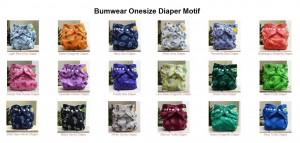 bumwear mix motif