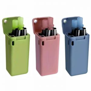 stailess steel straw folding coloured